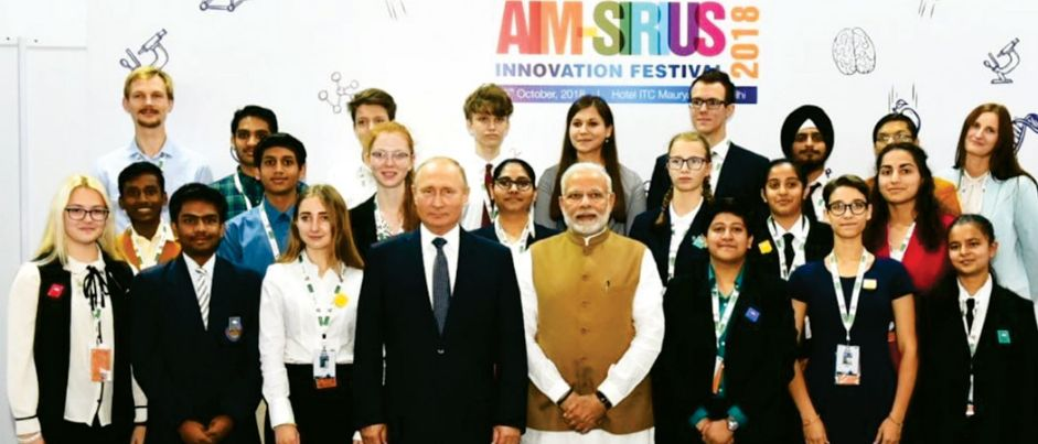 Rainbowites Interaction with Hon'ble Prime Minister of India and Hon'ble President of Russia