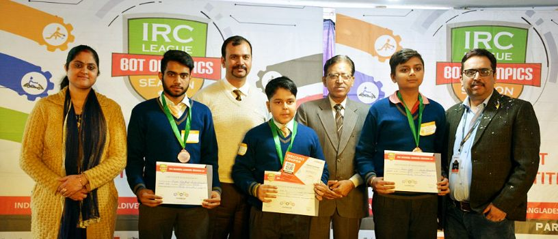 State level  Winners of International Robotics competition (IRC) Season 10